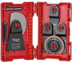 Milwaukee 48-90-1009 9PC Multi-Tool Blade Kit Oscillating NE