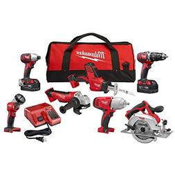 Milwaukee Cordless 7-Tool M18 18-Volt Lithium-Ion Batteries