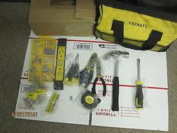New Stanley Tool Kit W/ bag, level, hammer, pliers,  Hex key