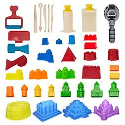 CoolSand Advanced Building Sand Molds and Tools Kit - Works