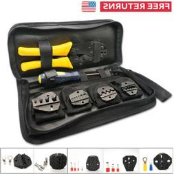 AWG0.5-35 Insulated Wire Terminals Crimper Stripper Heavy Duty Crimping Tool Kit