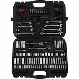 Basics Mechanic Socket Tool Kit Set With Case - Of 145 Hand