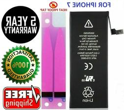 Battery For iPhone 7 1960mAh internal replacement free kit +