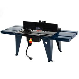 Benchtop Router Table Electric Aluminium Steel Extension Cra