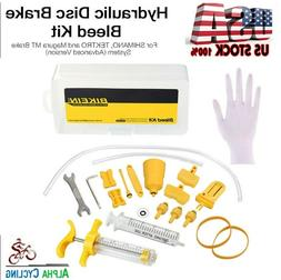 Bicycle Hydraulic Brake Mineral Oil BLEED Tool KIT For Shima