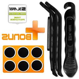 BLANST Best Bicycle Tire Levers - 3 Pcs of Extra Strong and