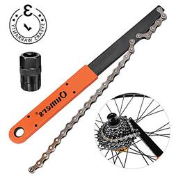 Oumers Bike Chain Tools Kit, Upgrade Rotor Lockring Removal