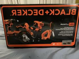 black and decker 20v lithium 4 tool