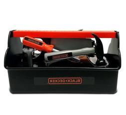 Black & Decker Jr. - Toy Tool Box Kit - 10 Tools and accesso