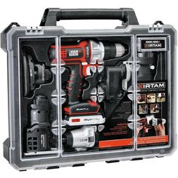 BLACK+DECKER Matrix 6 Tool Combo Kit with Case NEW