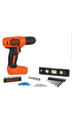 Black Decker Project Pack 1 Tool 8 Power Combo Kit