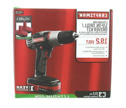 Craftsman C3 Lithium Drill Kit with Batteries