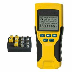 Cable Tester, VDV Scout Pro 2 Traces and Tests Coax, Data, T