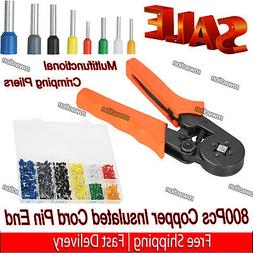 Cable Wire Crimper Crimping Pliers Tool Ferrule Crimpers 0.2