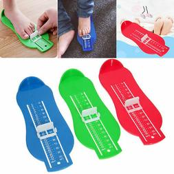 children baby toddler foot shoe size measure