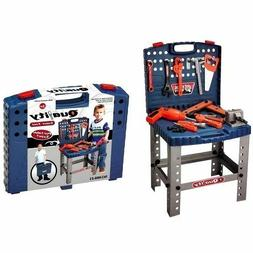 Childrens Work Bench Kids Play Set With Tools Diy Tool Kit C
