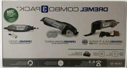 Dremel CKDR-02 Ultimate 3-Tool Combo Kit with 15 Accessories