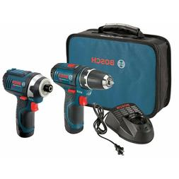 Bosch CLPK22-120 12-Volt Max Lithium-Ion Drill and Impact Dr