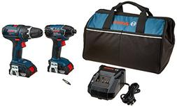 Bosch CLPK232-181 18V 2-Tool Combo Kit  with  2.0 Ah Batteri