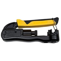 Klein Tools Compression Crimper-Lateral, Multi-Connector