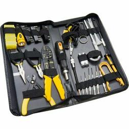 58 Pieces Computer Tool Kit with Slim Zipped Case