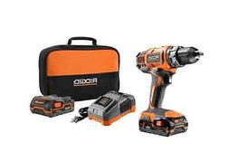 RIGID Cordless, Compact Power tool, Drill/driver Kit, 18 Vol