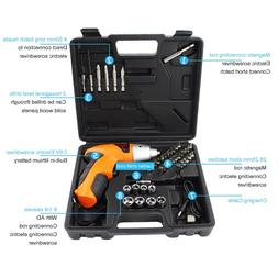 Cordless Drill <font><b>Screwdriver</b></font> Rechargeable