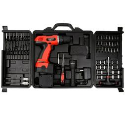 Cordless Drill Set-78 Piece Kit  18-Volt Power Tool with Bit