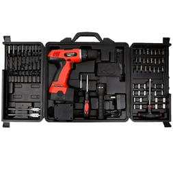 Cordless Drill Set-78 Piece Kit, 18-Volt Power Tool with Bit
