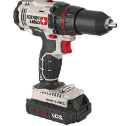 Cordless Electric Power Drill Tool 20V Max Lithium Ion 1/2 i
