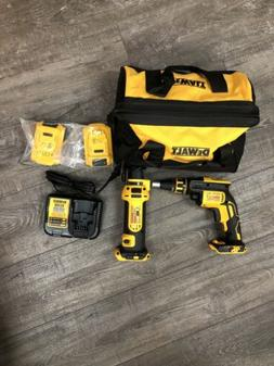 DeWalt Cordless screwgun And Drywall Cutout Tool Kit DCK263D