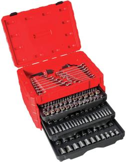 CRAFTSMAN Mechanics Tool Kit, 224-Pc., 3 Drawers Tool Box Du