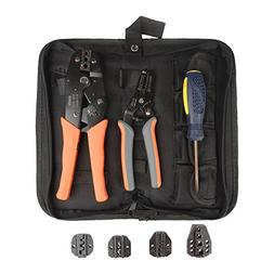 IWISS Crimping tool kit with Stripper&Cutter for different k