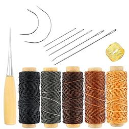 Promisy 14 Pieces Curved Upholstery Hand Sewing Needles Sewi