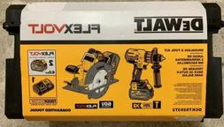DEWALT DCKTS293T2 Flexvolt 60V Li-Ion 2 Tool Kit W/2BATTS &