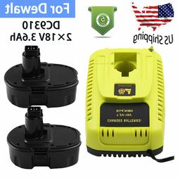 For Dewalt DC9096 18V3.6Ah XRP Battery+For Dewalt DC9310 7.2