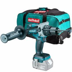 """Makita DHP481Z 18 Brushless Combi Hammer Drill with 26"""" 6pc"""