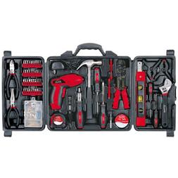 162 pc DIY Tool Kit with 4.8V Rechargeable Cordless Screwdri