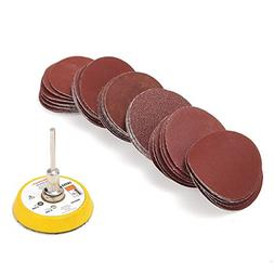 Jeteven 2 inch Sanding Discs Pad Kit for Drill Grinder Rotar