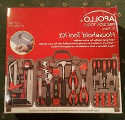 Apollo Tools DT0204P 71 Piece Household Tool Kit with Most R