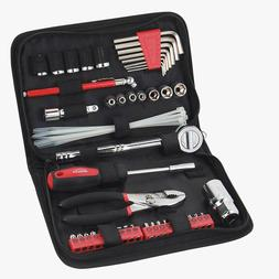 Apollo Tools Dt9774 56 Piece Sae Auto Tool Kit In Compact Zi