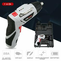 Electric Cordless Screwdriver Set Rechargeable Wireless 45PC