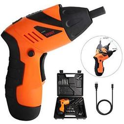 Electric Power Screwdrivers Screwdriver Kit, Rechargeable -