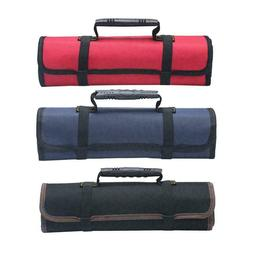 Electrician Tool Pocket Bag Roll Up Storage Organizer Bags C