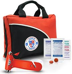 Ultra-Light & Small 126-Piece First Aid Kit w/ Medicine, Med