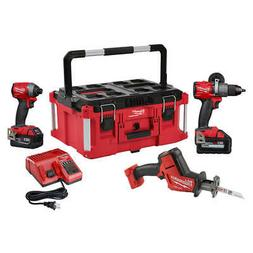 Milwaukee FUEL M18 2997-23PO 18-Volt 3-Tool Cordless Packout