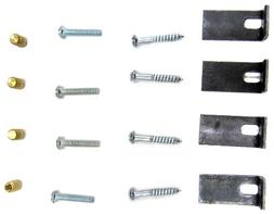 Furnished Mounting Kit for Undermount Sinks, Bathroom Sinks,