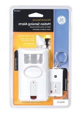 GE Motion Sensing Alarm With Key Chain Remote