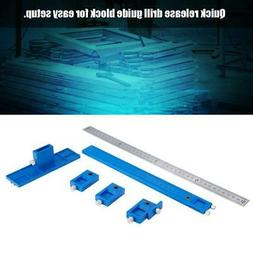 Guide Sleeve Cabinet Hardware Jig Punch Locator Drawer Pull