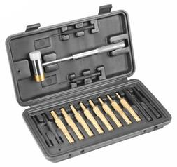 Hammer & Punch Set, Plastic Case